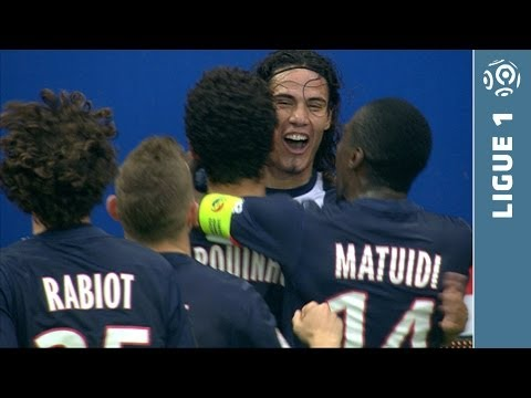 Extraordinaire but CAVANI dribble Landreau (62') - PSG - Bastia (4-0 - 2013/2014