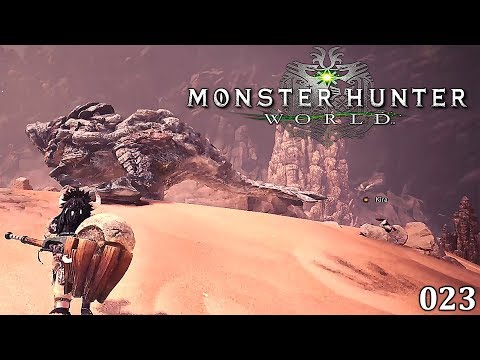 Monster Hunter World [023] Unsere ersten Untersuchungen [Deutsch] Let's Play Monster Hunter World