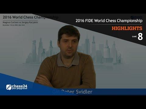 2016 FIDE World Chess Championship - Highlights - Game 8