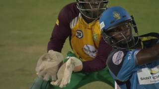 CPL Top 5 Sixes @ The Darren Sammy National Cricket Stadium
