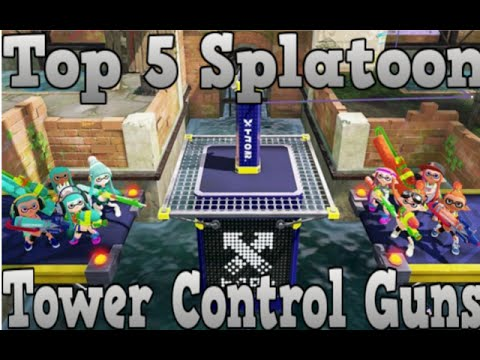 Top 5 Best Tower Control Weapons Splatoon #1
