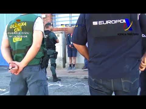 Operación Alquimia. Operaciones de la Guardia Civil. UCO, EUROPOL, Agencia Tributaria