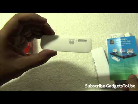 Huawei Wingle E8231 Poratble On The Go Wifi Hotspot Dongle From SIM Card Review. Features and Overvi