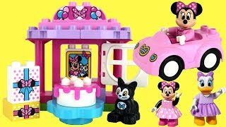 LEGO Duplo MINNIE MOUSE Birthday Party Building Play Set with Daisy