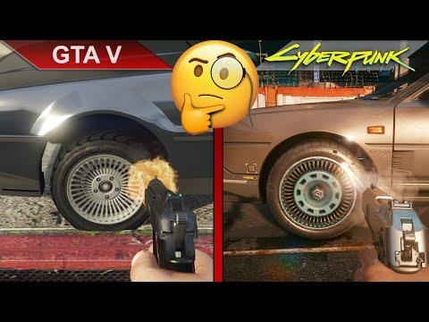 THE BIG COMPARISON | GTA V vs. Cyberpunk 2077 | PC | ULTRA | RTX 2070
