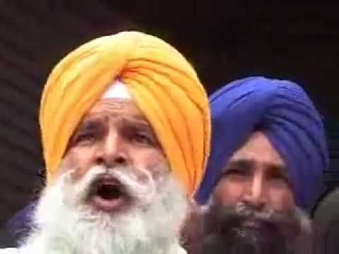 Sikh Army man exposing Prakash Badal