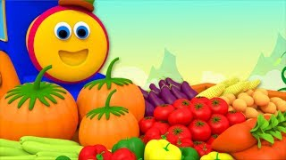Vegetables Song | Learning Street With Bob The Train | Educational Videos For Toddlers by Kids Tv