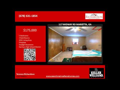 5 Bedroom home for sale near due west elementary school Marietta ga