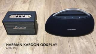 Marshall Kilburn vs Harman Kardon Go&Play Soundcheck