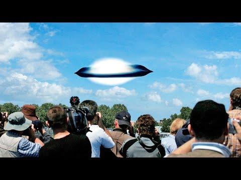 👽 НЛО в Испании зафиксировали тысячи людей - реальная съемка 2017 HD (UFO)
