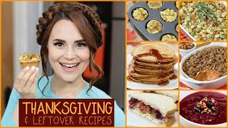 DIY Thanksgiving & Leftover Recipes!