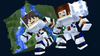 Minecraft: PARKOUR EM PLANETAS !!