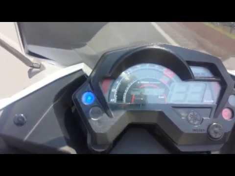 Yamaha fz16 fazer 200cc maxima velocidad 143km