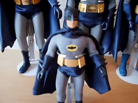 1966 TV ADAM WEST BATMAN CUSTOM FIGURES MEGO SIDESHOW IDEAL STYLE