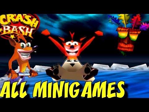 Crash Bash - All Minigames