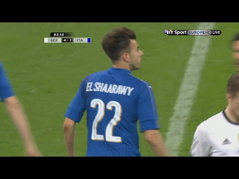 Stephan El Shaarawy vs Germany Away HD 720p (29/03/2016)