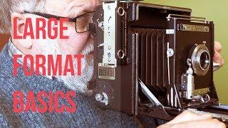 Large Format Basics: Graflex Speed Graphic Press Camera