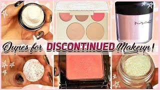 DUPES FOR DISCONTINUED MAKEUP | Colourpop, Mac, Becca!