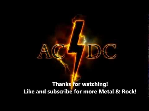AC DC Highway to hell with Lyrics HD