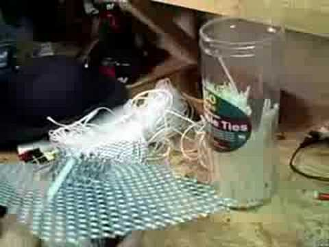 How to make a crawdad trap/pot