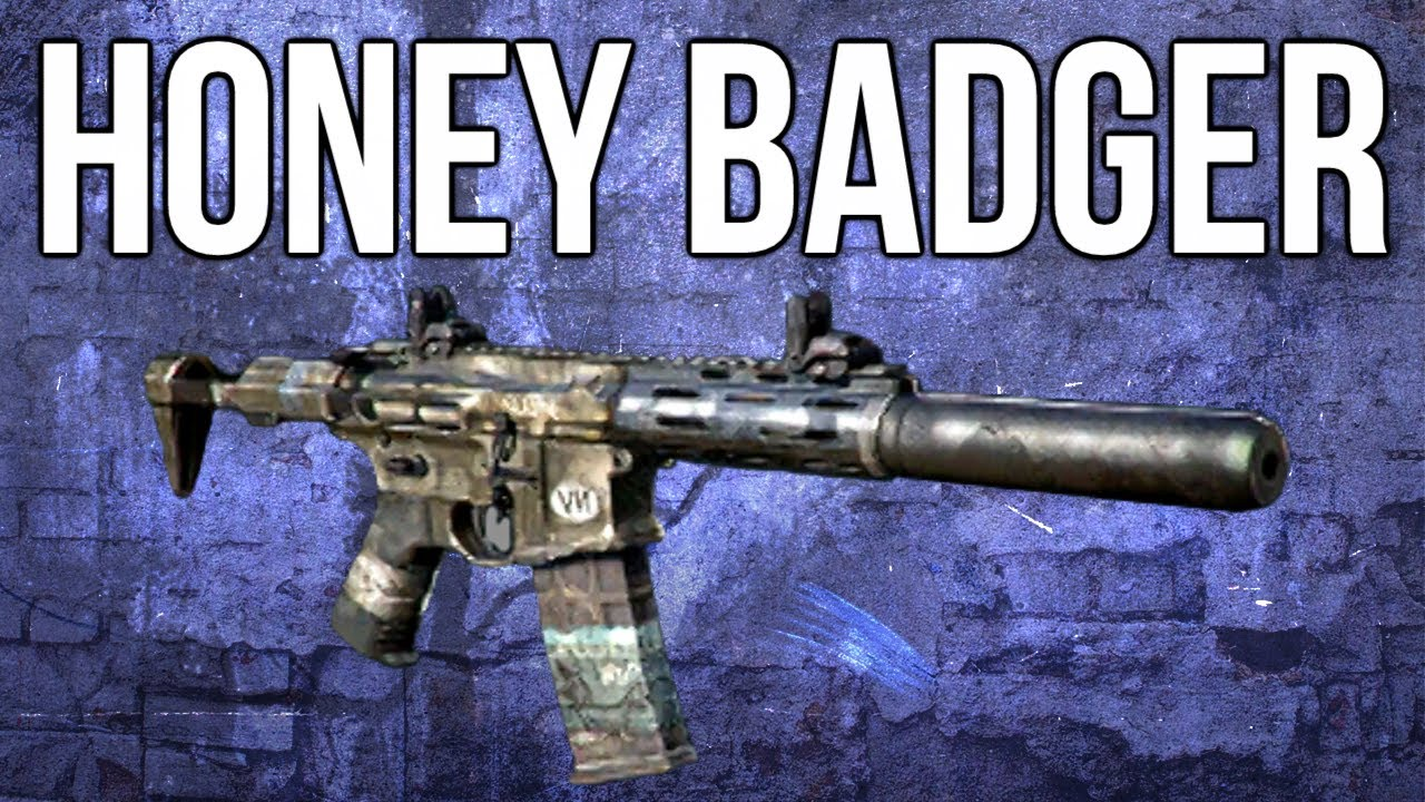 Ghosts In Depth - Honey Badger Assault Rifle Review - YouTube