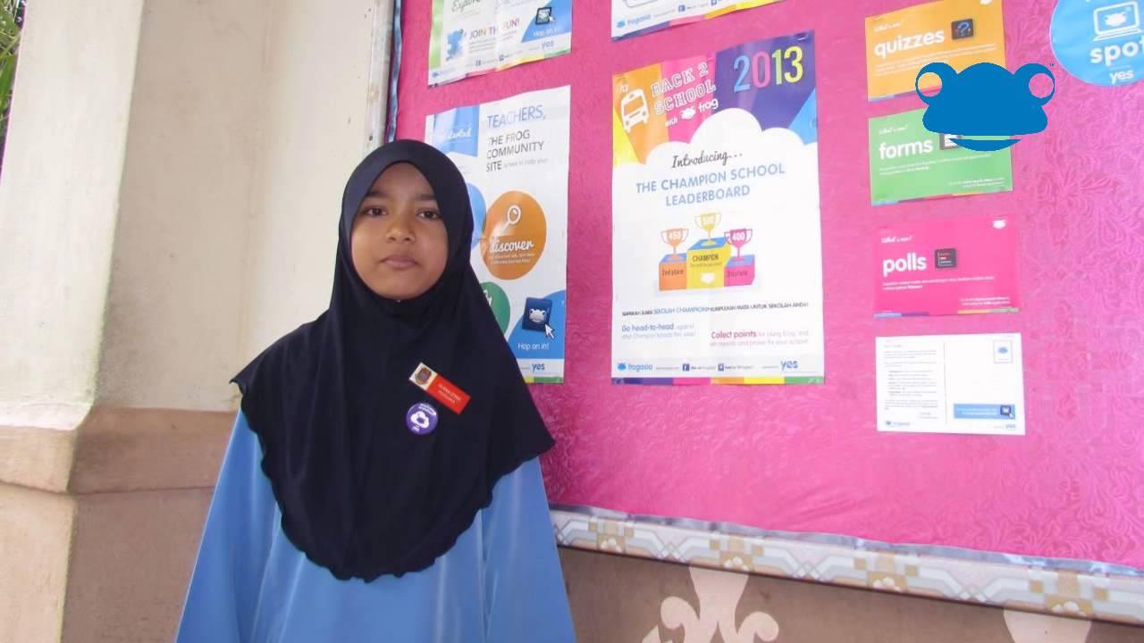 Frog VLE Student Champions Project SK Permatang Buloh - YouTube