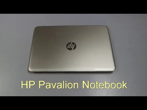 HP Pavalion Notebook Gold 14-AL061TX Unboxing