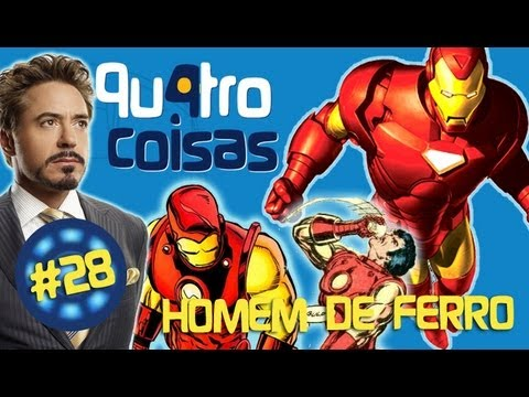 HOMEM DE FERRO IRON MAN - QU4TROCOISAS WEBSODIO #28