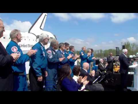 NASA Transfers Space Shuttle to NASM