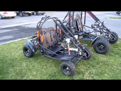 BMS 110cc Power Go Kart Review - 110 Go Kart Reviews - Go Karts for Sale - 877-300-8707