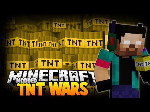 Minecraft Modded Tnt Wars W noahcraftftw - This Means War! video