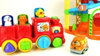 VTech Toy Compilation - 30min Spinning Spiral Playset, Noah's Ark Toy, Adventure Park, and more!