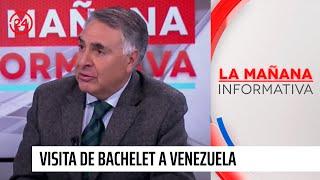 """Académico por visita de Bachelet a Venezuela: """"Lo que se busca es negociar"""""""