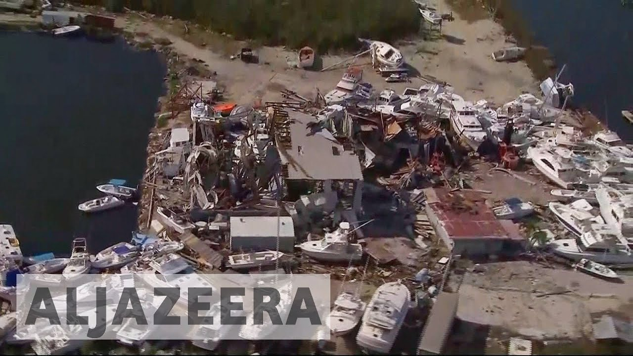Hurricane Irma 'destroyed 25 percent' of Florida Keys homes