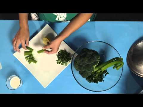 Hervir coliflor o brócoli sin olor