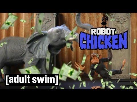 World Wildlife Fun | Robot Chicken | Adult Swim