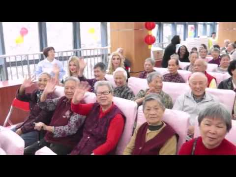 Mrs Globe 2015 - Charity Day at the elderly home (2 of 2)