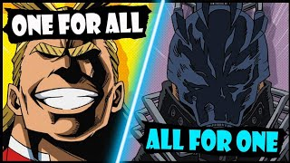 One for All VS All for One EXPLAINED! (My Hero Academia / Boku no Hero Season 3 / S3 Villain Boss)