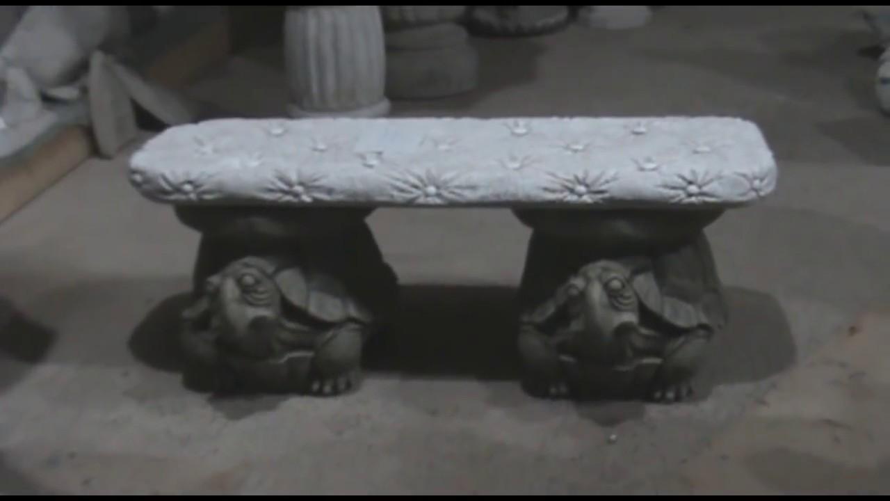 Concrete garden statues part 4 youtube - Cement cloth garden ornaments ...