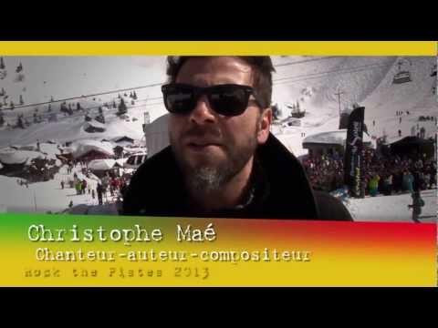 L'interview de Christophe Maé en concert à Châtel