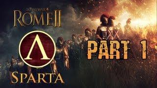 Total war rome 2 walkthrough part 1 sparta