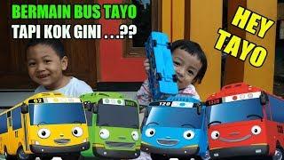 EL Tour - Bermain Mainan Bus Tayo,Tapi Kok Gini Yah | Prank Ambil Sendal (Bus Tayo Toys)