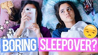 What To Do When You're Bored at a Sleepover! || MiaBee