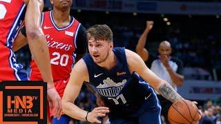 Dallas Mavericks vs Philadelphia Sixers Full Game Highlights | 10.08.2018, NBA Preseason