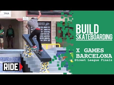 Nyjah Huston Wins Street League at X Games Barcelona 2013