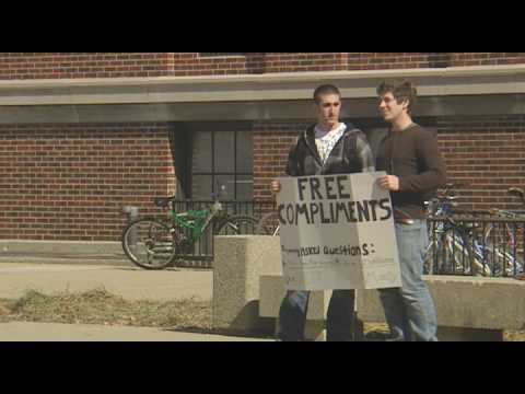 Compliment Guys at Purdue University Video