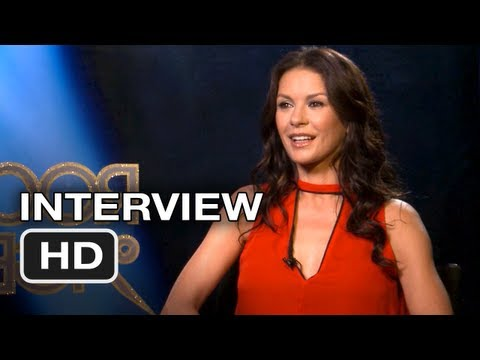 Rock of Ages Interview - Catherine Zeta-Jones - Tom Cruise Movie (2012) HD