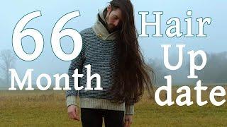 Man Growing Long Hair 5.5 Years Update