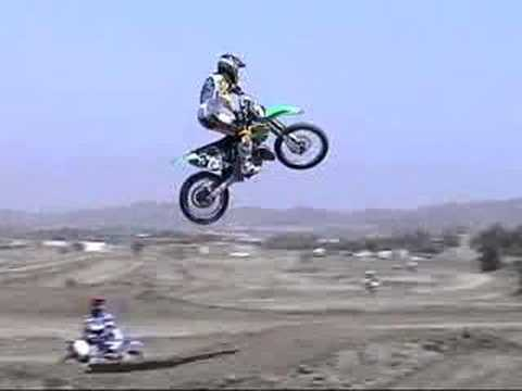 Dirt Bikes Jumping Dirt Bike jumping feat bubba