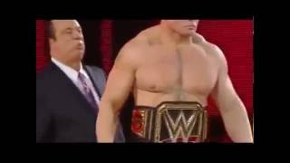 Brock Lesnar vs Roman Reigns WWE World Heavyweight Championship Wrestlemania 31 Full Match HD